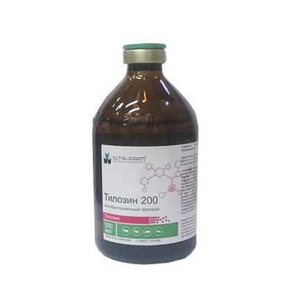 Тилозин 200, 100 мл, фото 2