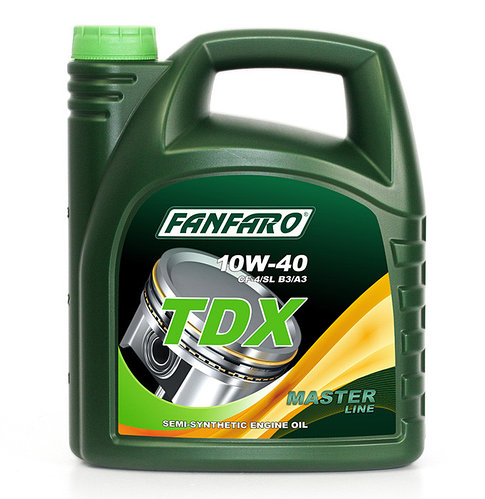 Моторное масло FANFARO TDX 10W40 CF-4/SL 5L