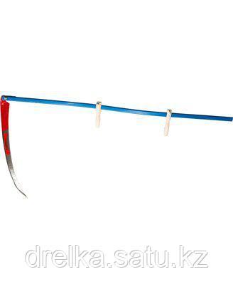 Коса ручная набор 39829-7, Косарь-ММ, с удлиненным металлическим косовищем №7, 70см