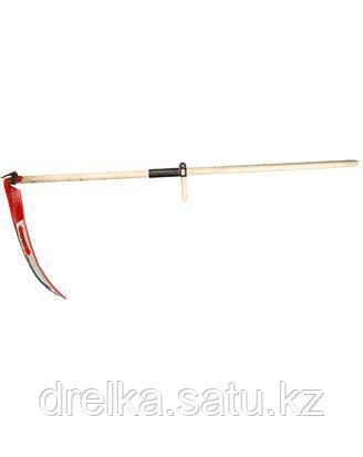 Коса ручная набор 39830-7, Косарь, с деревянным косовищем №7, 70 см