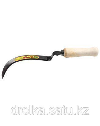 Серп Жнец-25 с зубцом, длина захвата 170 мм, 39835