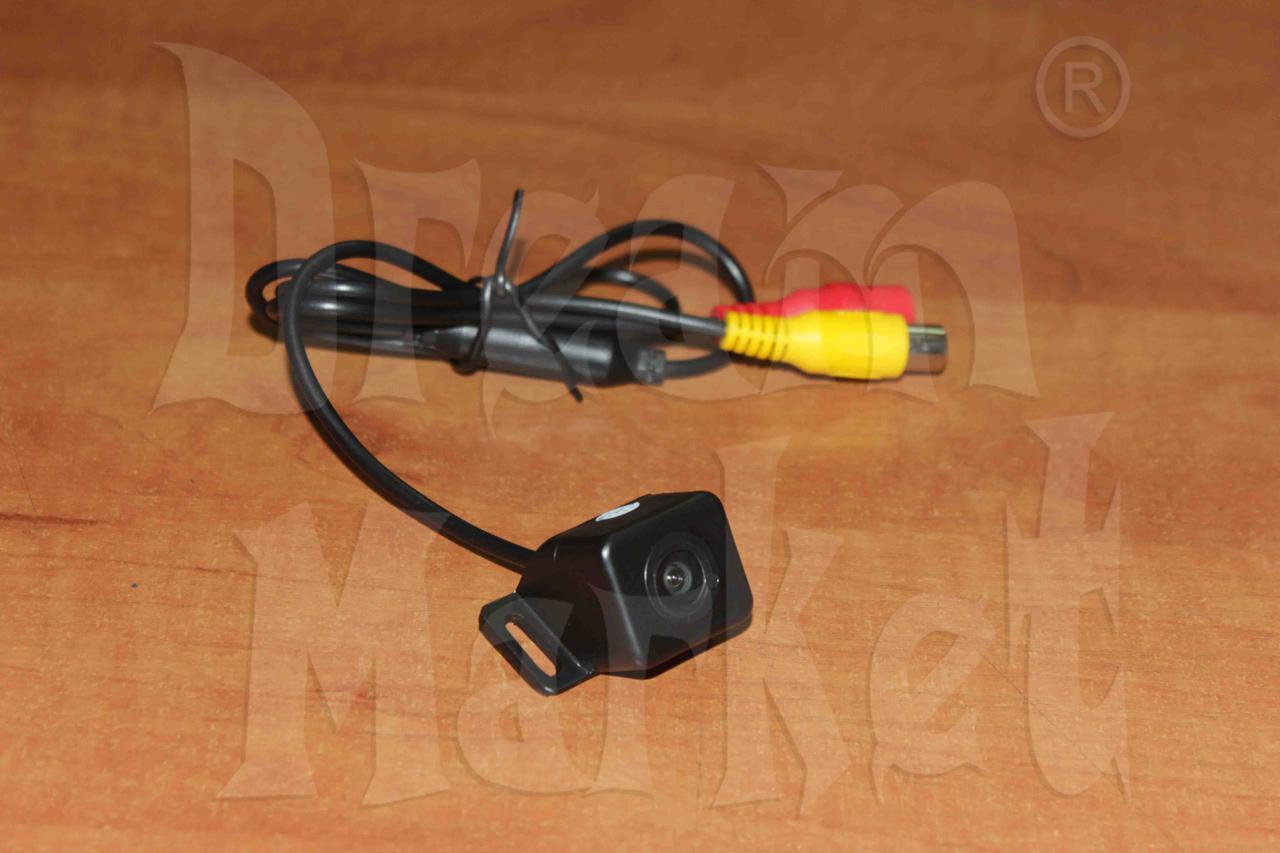 Камера заднего вида T12, цветная, пластик, с разметкой, универсальная