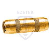 EZETEK Муфта соединительная 14 мм, латунь