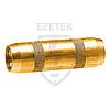 EZETEK Муфта соединительная 16 мм, латунь