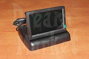 Автомобильный монитор 4.3 дюйма, складной, цветной