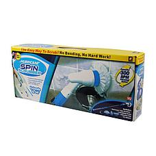 Электрическая щетка Spin Scrubber с насадками, фото 2