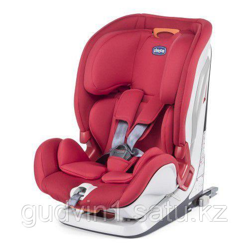Chicco: Автокресло Youniverse Fix Red  (9-36 kg) 12+