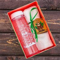 """Набор """"Подарочный"""", бутылка для воды, полотенце"""