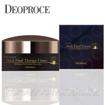 Крем для лица Deoproce Black Pearl Therapy Cream, 100 г