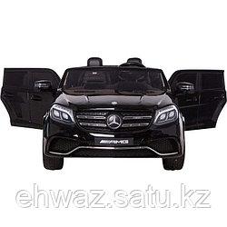 Детский двухместный электромобиль Мерседес GLS63 черный