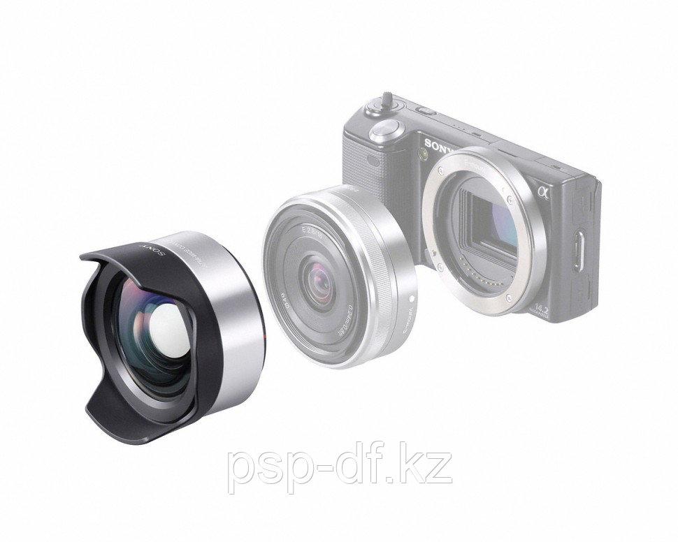 Sony E 16mm f/2.8 Wide-Angle + насадка VCL-ECU1