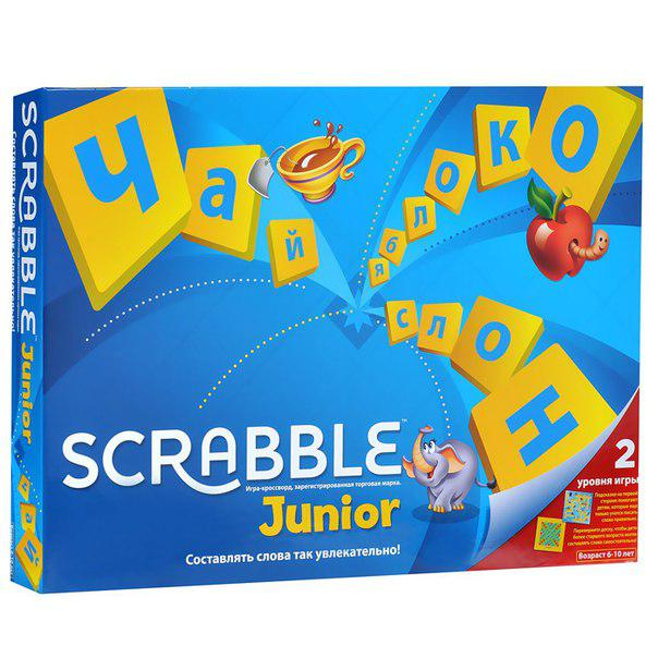 Настольная игра Scrabble Джуниор
