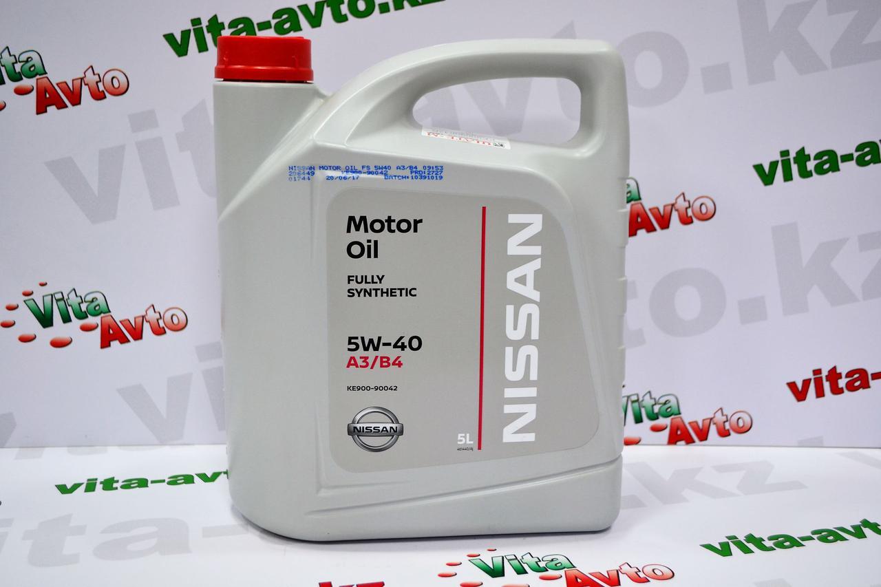 NISSAN Motor Oil SAE 5W-40