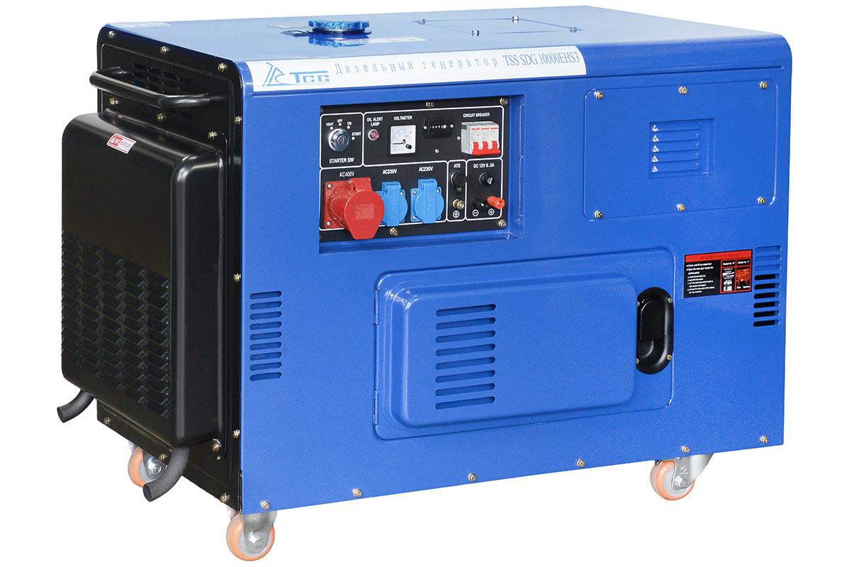 Дизельный генератор 10000EHS3
