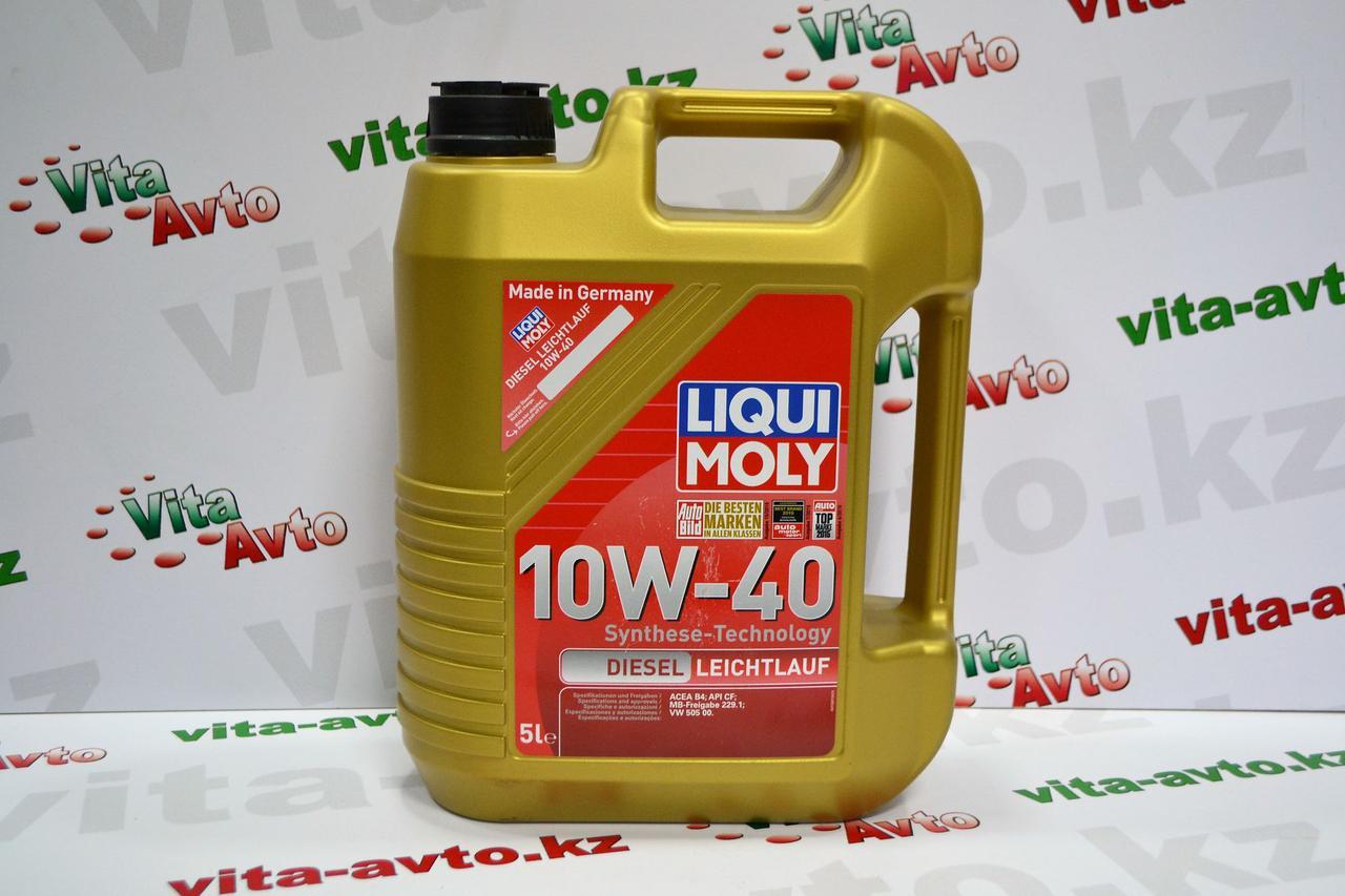 Масло для дизельного двигателя Liqui Moly Diesel Leichtlauf 10w40