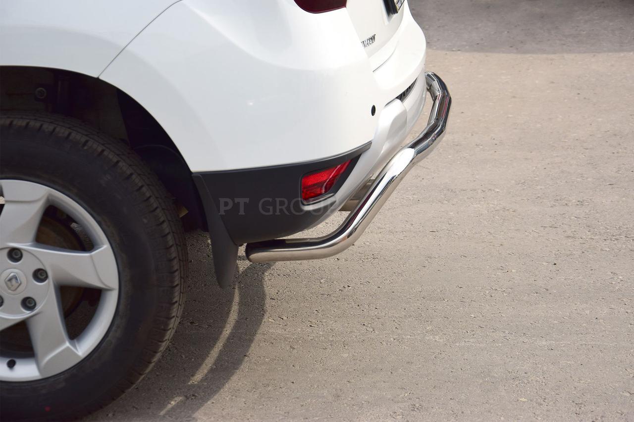 Защита заднего бампера 51мм (НПС) Renault Duster 2016