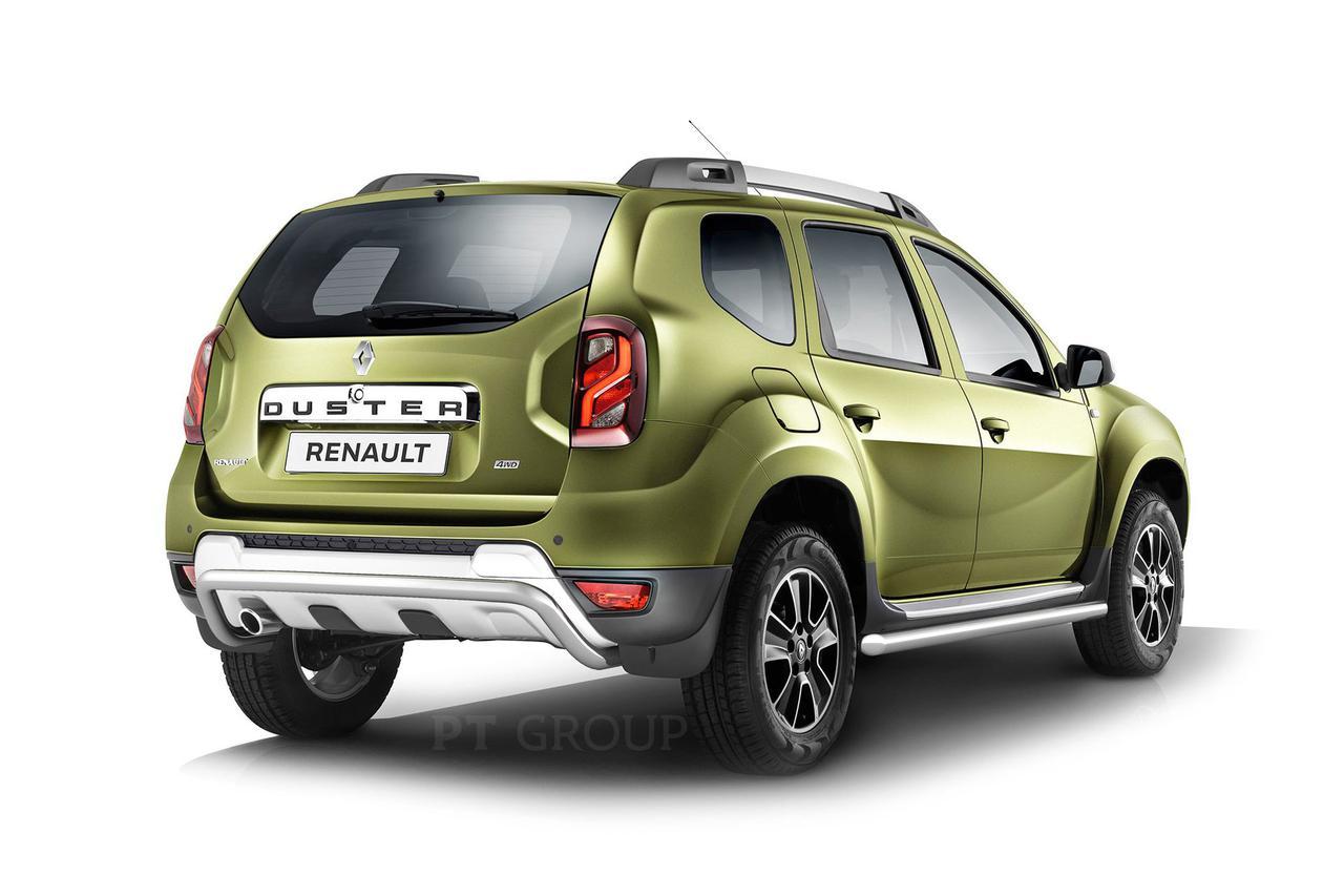 Защита порогов вогнутая 63мм (НПС) Renault Duster 2016-