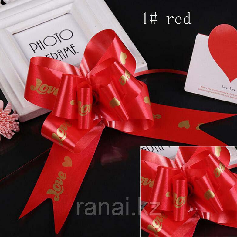 """Красивые банты для подарков и украшений """"LoVe"""""""