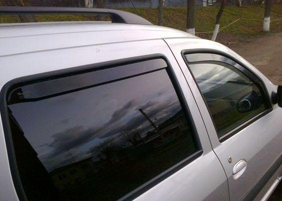 Ветровики-дефлекторы вставные на окна