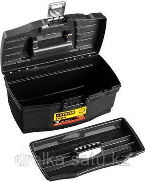 Ящик для инструментов STAYER 38016-12, MASTER, пластиковый, 290 x 170 x 130 мм, 12 дюймов, фото 2
