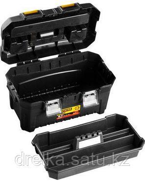 Ящик для инструментов STAYER 38016-16, MASTER, пластиковый, 420 x 250 x 230 мм, 16 дюймов , фото 2