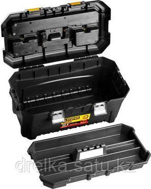 Ящик для инструментов STAYER 38016-22, MASTER, пластиковый, 580 x 320 x 280 мм, 22 дюйма , фото 2