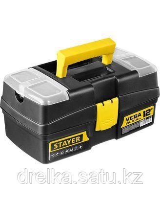 """Ящик для инструментов STAYER 38105-13_z03, VEGA, пластиковый с органайзерами, 12"""""""