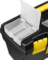 """Ящик для инструментов STAYER 38105-16_z03, VEGA, пластиковый с органайзерами, 16"""" , фото 2"""