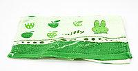 Полотенце кухонное, детское, зеленое, 69*32 см