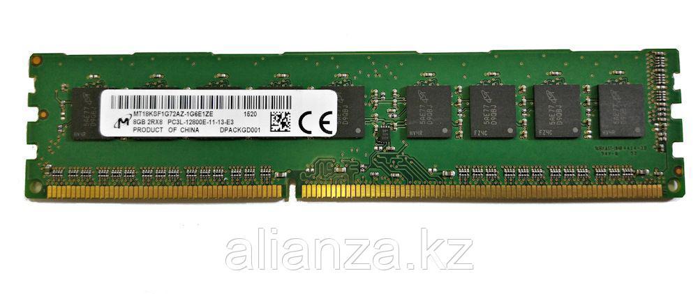 Модуль памяти MICRON MT18KSF1G72AZ-1G6E1ZE 8GB (1X8GB)1600MHZ PC3L-12800E CL11 ECC UDIMM Unbuffered DUAL RANK DDR3