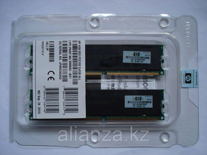 Оперативная память HP 4GB 2x 2GB  PC2100 (DDR-266) Proliant DL560, DL585, BL20p G2, BL30p, BL40p , 300682-B21 (AD197A, 300702-001 261586-051)