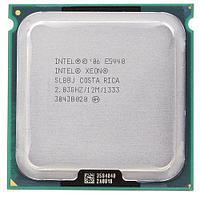 Процессор Intel Xeon E5440 Harpertown (2833MHz, LGA771, L2 12288Kb, 1333MHz) , SLBBJ, oem