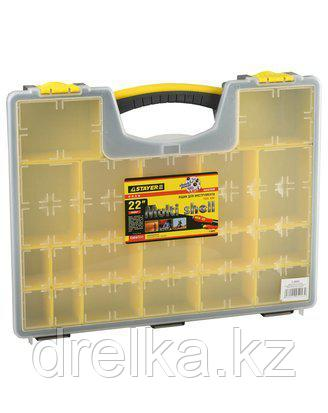 Ящик для инструментов STAYER 2-38032, MULTYSHEL, пластмассовый, 22 дюйма , фото 2