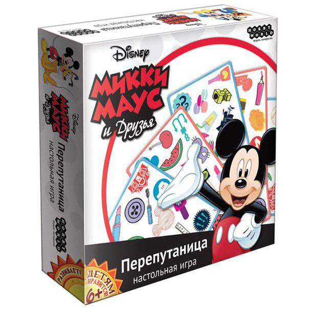 Настольная игра: Микки Маус: Перепутаница, арт.