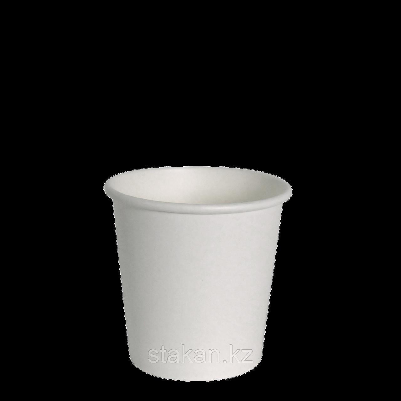 Бумажный стакан 100 мл (БЕЛЫЙ)