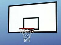 Щит баскетбольный антивандальный тренировочный из металлического листа 1200мм х 900мм, фото 2
