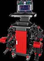 Компьютерный диагностический стенд КДСО - Р для регулировки углов установки колес легковых автомобилей (стенд