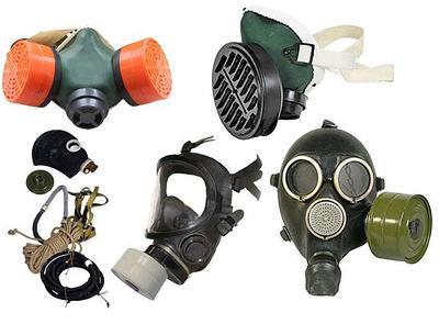 Средства защиты органов дыхания, маски, респираторы