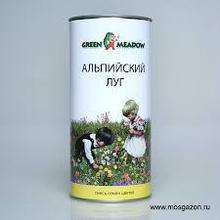"""Смесь цветов """"Альпийский луг """"0,05 кг Зеленый ковер"""