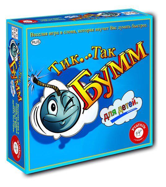 Настольная игра: Тик Так Бумм для детей (издание 2016)