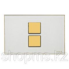 Кнопка смывная Vitra 740-0102 белая