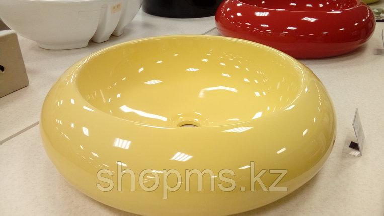 Умывальник фигурный Melana 800-1001SY желтый*, фото 2
