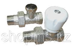 Набор для подключения радиатора с ручной регулировкой 1/2 прямой Comisa***