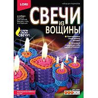 """Свечи из вощины""""Разноцветные бабочки""""Lori"""