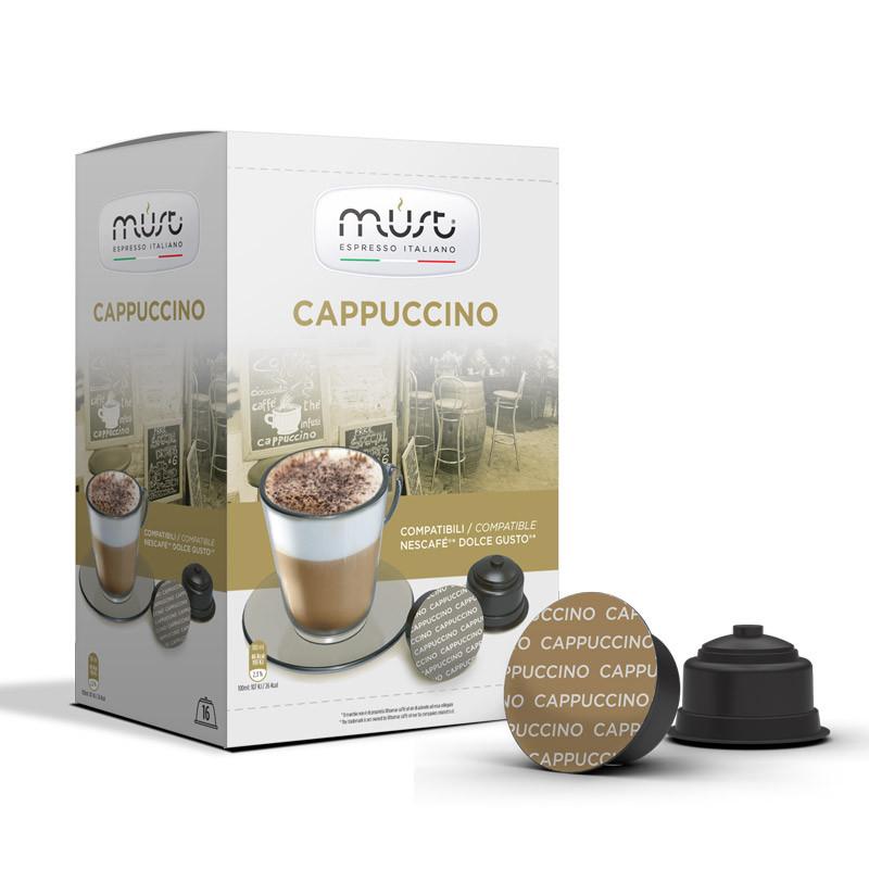 "Кофе в капсулах ""Must Cappuсcino"" Dolce Gusto"