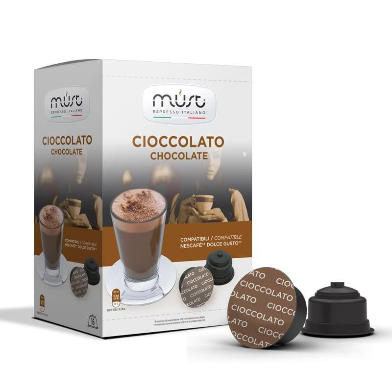"Шоколад в капсулах ""Must Chocolate"" Dolce Gusto"