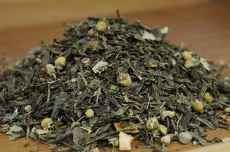 """Чай зеленый с добавками """"Японская липа"""" Германия, 500гр."""