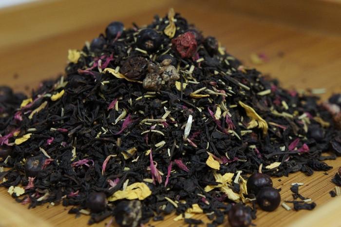 """Чай черный с добавками """"Таежный"""" Германия, 500 гр."""