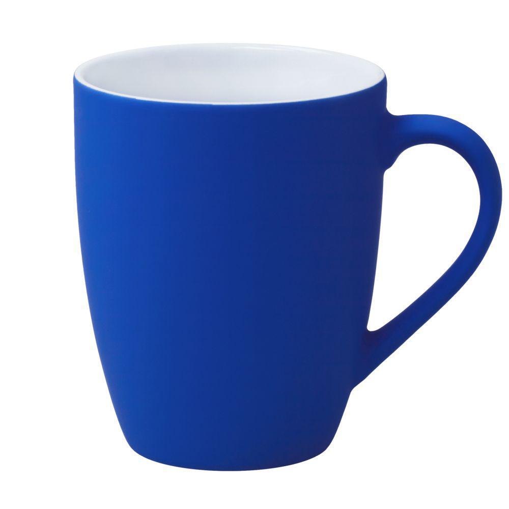 Кружка Good Morning c покрытием софт-тач, синяя