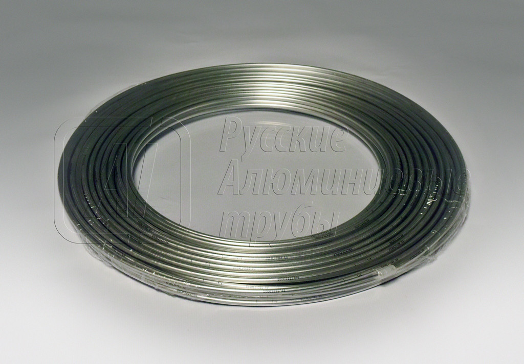 Труба для монтажа кондиционеров алюминиевая 1/4*6,35*1,0 бухта 50 метров.